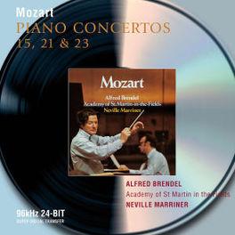 PIANO CONCERTOS NO.21&23 W/ALFRED BRENDEL, A.S.M.I.F., MARRINER Audio CD, W.A. MOZART, CD
