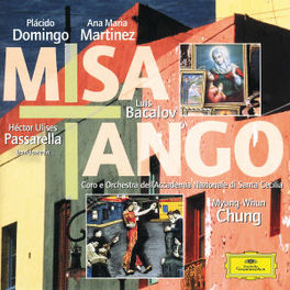 MISA TANGO DOMINGO/MARTINEZ/PASSARELLA/CHUNG Audio CD, DOMINGO/MARTINEZ/CHUNG, CD