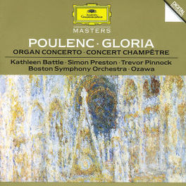 GLORIA/ORGAN CONCERT -PRESTON/SEIJI OZAWA Audio CD, F. POULENC, CD