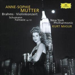 VIOLINCONCERT/FANTASIE MUTTER/NEW YORK PHILHARMONIC/MASUR Audio CD, BRAHMS/SCHUMANN, CD