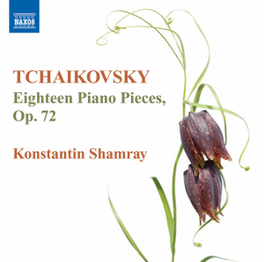 EIGHTEEN PIANO PIECES OP. KONSTANTIN SHAMRAY P.I. TCHAIKOVSKY, CD