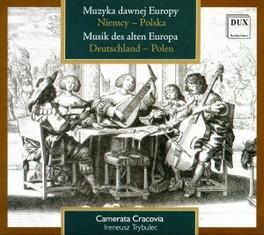 BAROQUE MUSIC FROM GERMAN Audio CD, CAMERATA CRACOVIA, CD