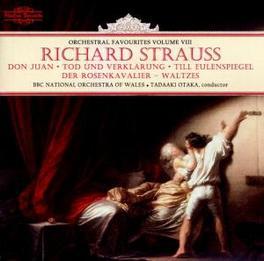 DON JUAN/TOD & VERKLARUNG ORCHESTRAL FAVOURITES VOL.8 Audio CD, R. STRAUSS, CD