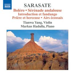 MUSIC FOR VIOLIN & PIANO YANG/TIANWA & MARKUS HADULLA P. SARASATE, CD
