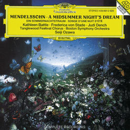 A MIDSUMMER NIGHT'S DREAM BATTLE TANGLEWOOD CHOIR BSO OZAWA Audio CD, MENDELSSOHN-BARTHOLDY, F., CD