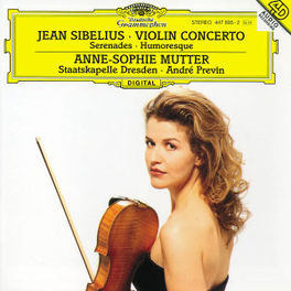 VIOLINKONZERT ANNE-SOPHIE MUTTER, STAATSKAPELLE DRESDEN, ANDRE PREVIN Audio CD, J. SIBELIUS, CD