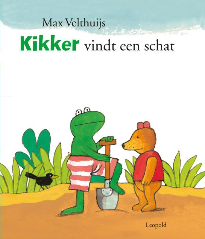 Kikker vindt een schat Max Velthuijs, Hardcover