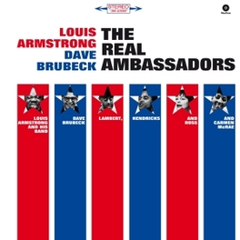 REAL AMBASSADORS -HQ- W/DAVE BRUBECK A.O. // 180GR. LOUIS ARMSTRONG, LP