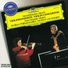 VIOLIN CONCERTOS BERLIN P.O./KARAJAN Audio CD, MENDELSSOHN/BRUCH, CD