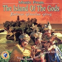 ISLAND OF THE GODS BALINESE GAMELAN GONG Audio CD, V/A, CD