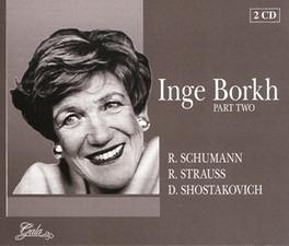 PART TWO ORCH.DEL TEATRO ALLA SCALA/NINO SANZOGNO Audio CD, INGE BORKH, CD