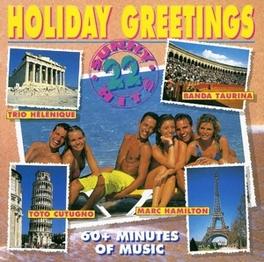 HOLIDAY GREETINGS -22 TR- W/TRIO HELENIQUE, AMALIA RODRIGUEZ, TOTO CUTUGNO, Audio CD, V/A, CD