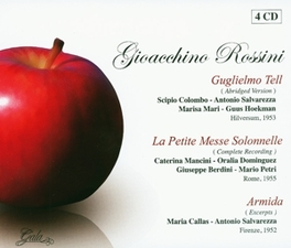 GUGLIELMO TELL/LA.. .. PETITE MESSE SOLONELLE/ARMIDA Audio CD, G. ROSSINI, CD