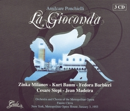 LA GIOCONDA ORCH.METROP.OPERA NEW YORK/EMIL COOPER Audio CD, A. PONCHIELLI, CD