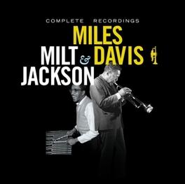 COMPLETE RECORDINGS Audio CD, DAVIS, MILES & MILT JACKS, CD