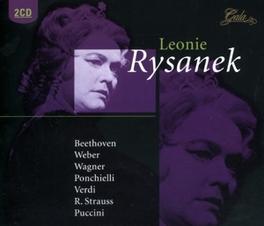 LEONIE RYSANEK SINGS OTELLO, LA GIOCONDA, AIDA, TOSCA, TURANDOT, DER R Audio CD, LEONIE RYSANEK, CD