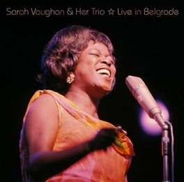 LIVE IN BELGRADE Audio CD, SARAH VAUGHAN, CD