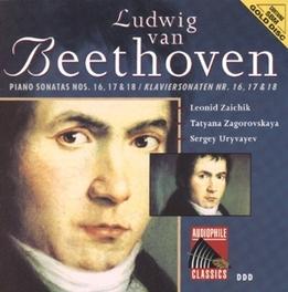 PIANO SONATA NO.16 IN G MAJOR OP.31 W/L. ZAICHIK, T. ZAGOROVSKAYA, S. URYVAYEV Audio CD, L. VAN BEETHOVEN, CD