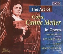 ART OF-IN OPERA SINGS:COSI FAN TUTTE(MOZART)/AIDA(VERDI)/CARMEN(BIZET)/ Audio CD, CORA CANNE MEIJER, CD