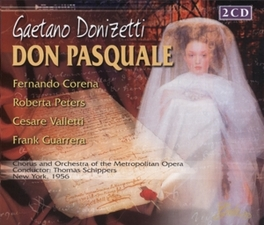 DON PASQUALE ORCH.OF THE METROPOL.OPERA/THOMAS SCHIPPERS Audio CD, G. DONIZETTI, CD