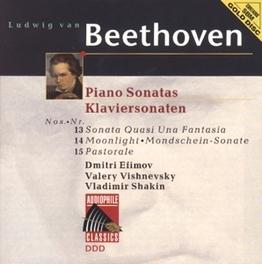 PIANO SONATA NO.13 IN E FLAT MAJOR OP.27 W/D. EFIMOV, V. VISHNEVSKY, V. SHAKIN Audio CD, L. VAN BEETHOVEN, CD