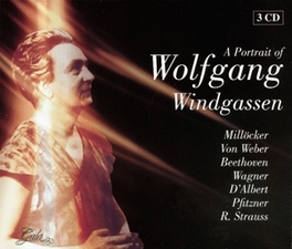 A PORTRAIT OF WORKS BY MILLOCKER/WEBER/BEETHOVEN/WAGNER/D'ALBERT/PFIZ Audio CD, WOLFGANG WINDGASSEN, CD