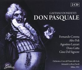 DON PASQUALE ORCH.DEL TEATRO ALLA SCALA/NINO SANZOGNO Audio CD, G. DONIZETTI, CD