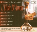 L'ELISIR D'AMORE ROYAL OPERA HOUSE COVENT GARDEN/JOHN PRITCHARD