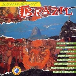 SOUNDS OF BRASIL W/GILBERTO GIL/MARTINHO DA VILA/NELSON GONCALVES & MILT Audio CD, V/A, CD