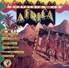 SOUNDS OF AFRICA INCL.FRANCO/TOURE KUNDA/MANU DIBANGO Audio CD, V/A, CD