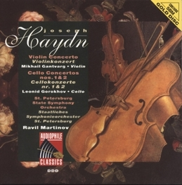 VIOLIN CONCERTO IN C MAJOR H7A NO.1 M GANTVARG/ST. PETERSBURG SOLOISTS/L.GOR Audio CD, J. HAYDN, CD
