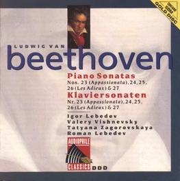 PIANO SONATA NO.23 IN F MINOR OP.57 W/I.LEBEDEV/V.VISHNEVSKY/T.ZAGOROVSKAYA/R.L Audio CD, L. VAN BEETHOVEN, CD