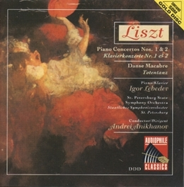 PIANOCONCERTOS 1 & 2 W/IGOR LEBEDEV Audio CD, F. LISZT, CD