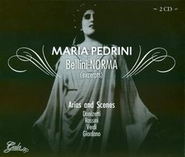 BELLINI - NORMA (EXCERPTS ORCH. E CORO DEL TEATRO SAN CARLO DI NAPOLI Audio CD, MARIA PEDRINI, CD