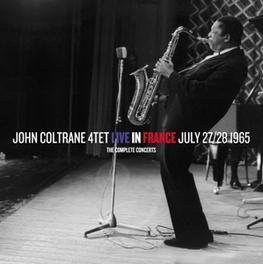 COMPLETE CONCERTS LIVE IN FRANCE JULY 27/28 1965 Audio CD, COLTRANE, JOHN -QUARTET-, CD