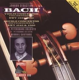 VIOLIN CONCERTO IN A MINOR BWV 1041 W/M.GANTVARG/O.MARTINOVA/C.TCHINAKAJEV/S Audio CD, J.S. BACH, CD
