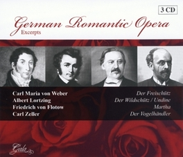 GERMAN ROMANTIC OPERA EXC GRE BOUWENSTIJN, SONJA DRAKSLER, ANNY SCHLEMM... Audio CD, WEBER/LORTZING/FLOTOW/ZEL, CD