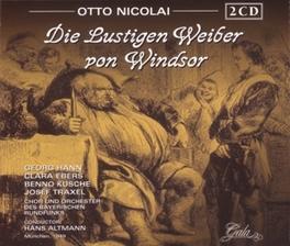 DIE LUSTIGEN WEIBER VON W ORCH.DES BAYERISCHEN RUNDFUNKS, HANS ALTMANN (1949) Audio CD, O. NICOLAI, CD