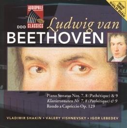 PIANO SONATA NO.7 IN D MAJOR OP.10 W/V. SHAKIN, V. VISHNEVSKY, I. LEBEDEV Audio CD, L. VAN BEETHOVEN, CD
