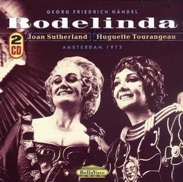 RODELINDA JOAN SUTHERLAND/HUGUETTE TOURANGEAU Audio CD, G.F. HANDEL, CD