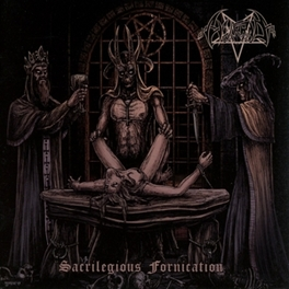 SACRILEGIOUS FORNICATION CULT ITALIAN BLACK DEATH METAL SINCE 1989 HORRID, CD