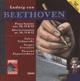 PIANO SONATA NO.10 IN G MAJOR OP.14 W/V. VISHNEVSKY, S. URYVAYEV, T.ZAGOROVSKAY Audio CD, L. VAN BEETHOVEN, CD