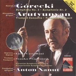 SYMPHONY NO.3 CONDUCTED BY ANTON NANUT Audio CD, H. GORECKI, CD