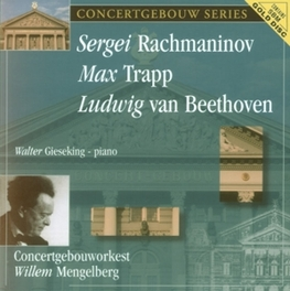 PIANO CONCERTO NO.2 OP.18 GIESEKING/CONCERTGEBOUWORKEST/MENGELBERG Audio CD, RACHMANINOV/TRAPP/BEETHOV, CD