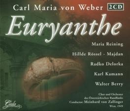 EURYANTHE CHOR UND ORCH.DES OSTERREICHISCHEN RUNDF Audio CD, C.M. VON WEBER, CD