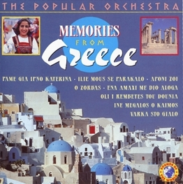 MEMORIES FROM GREECE W/ZORBAS, THEODORAKIS, LOIZOS, PAINFUL LIFE, VAMVAKARIS Audio CD, V/A, CD