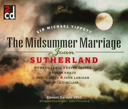 MIDSUMMER MARRIAGE JOAN SUTHERLAND/RICHARD LEWIS COVENT GARDEN 1955 Audio CD, SIR MICHAEL TIPPETT, CD