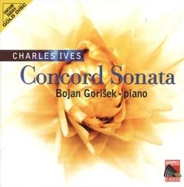 CONCORD SONATA BOJAN GORISEK Audio CD, C. IVES, CD