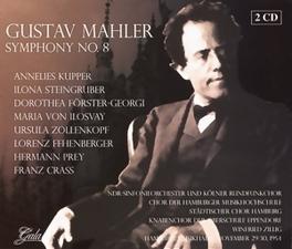 SYMPHONY NO.8 NDR S.O., WIENER PHILHARMONIKER Audio CD, G. MAHLER, CD