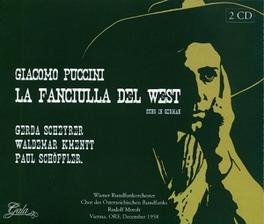 LA FANCIULLA DEL WEST WIENER RUNDFUNKORCH./CHOR DES OSTERRECHISCHEN RUNDFUNK Audio CD, G PUCCINI, CD